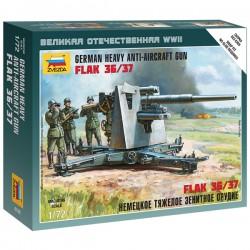 Звезда 6158 Сборная модель орудия Flak 36/37 (1:72)
