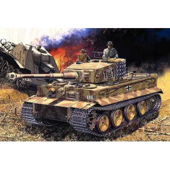 Модель танка Pz.Kpfw.VI Тигр ср.вып.