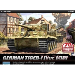 "Модель танка TIGER I MID VER. ""Anniv.70 Normandy Invasion 1944"""