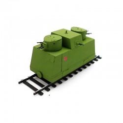 Soviet Armour SA429 Готовая модель бронедрезины Ленинградской (1:72)