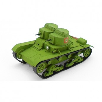 Soviet Armour SA449 Собранная модель танка Т-26 (1931) (пулеметный) (1:72)
