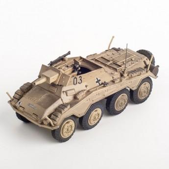 Panzerstahl 88014 Готовая модель бронеавтомобиля SD.KFZ.234/2 PUMA France 1944 г (1:72)
