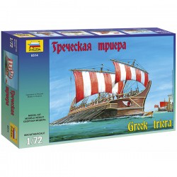 Звезда 8514 Сборная модель корабля Греческая триера (1:72)
