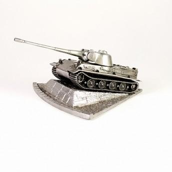 HeavyMetal.Toys Модель танка Löwe из металла с подставкой (1:100)