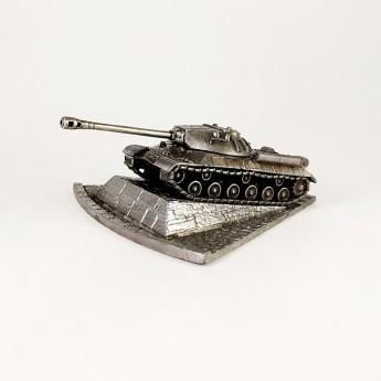 HeavyMetal.Toys Модель танка ИС-3 из металла с подставкой (1:100)