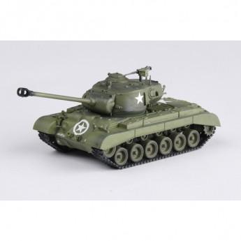 "Easy Model 36201 Готовая модель танка M26 ""PERSHING"" Heavy 2 Танковая дивизия (1:72)"