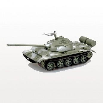 Модель танка Т-54 в зимнем камуфляже