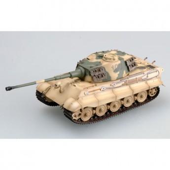 Easy Model 36296 Готовая модель танка Tiger II SS Pz Abt 503 (башня Хеншель) (1:72)