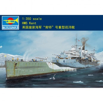 Trumpeter 05352 Сборная модель корабля HMS Kent (1:350)