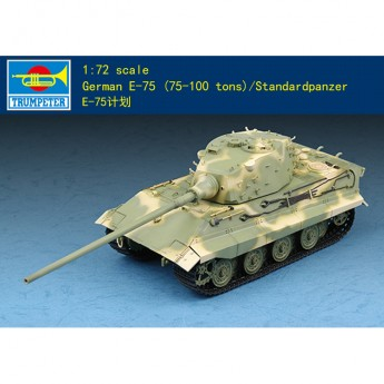 Trumpeter 07125 Сборная модель танка Е-75 (1:72)