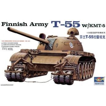 Модель танка Т-55 с КМТ-5 (1:35)