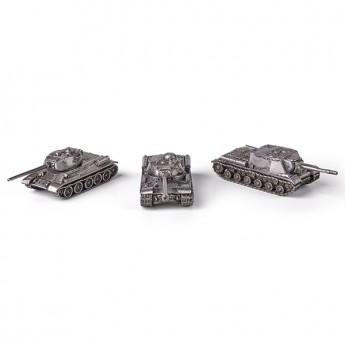 """HeavyMetal.Toys Подарочный набор танков из металла """"Орудия победы"""" (1:100)"""