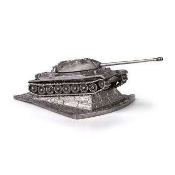 HeavyMetal.Toys Модель танка ИС-7 из металла с подставкой (1:100)