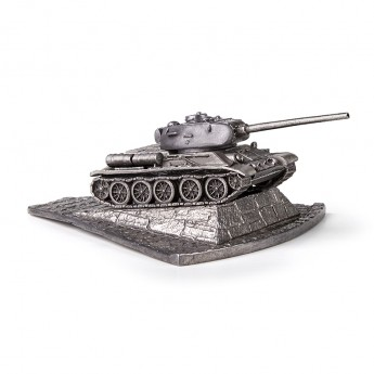 HeavyMetal.Toys Модель танка Т34-85 из металла с подставкой (1:100)