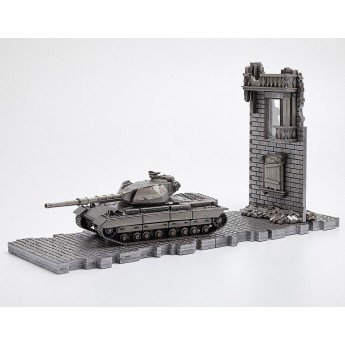 HeavyMetal.Toys Модель танка SUPER CONQUEROR из металла с подставкой (1:72)