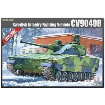 Модель Шведской БМП CV9040B (1:35)