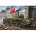 Hobby Boss HB84812 Сборная модель танка КВ-1 мод 1942 Simplified Turret tank (1:48)