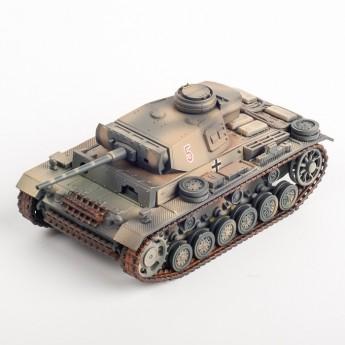 Panzerstahl 88030 Готовая модель танка Panzer III Ausf. L 10.Pz.Div. Afrikakorps 1942 (1:72)