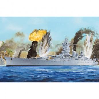Hobby Boss HB86506 Сборная модель корабля French Navy Dunkerque Battleship (1:350)
