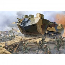 Hobby Boss HB83858 Сборная модель танка Saint-Chamond Heavy Tank - Early (1:35)
