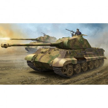 "Hobby Boss HB84530 Сборная модель танка German Sd.Kfz.182 King Tiger ""Porsche Turret"" w/ Zimmerit (1:35)"