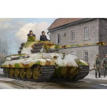 Hobby Boss HB84532 Сборная модель танка Pz.Kpfw.VI Sd.Kfz.182 Tiger II (Henschel Feb-1945 Production) (1:35)