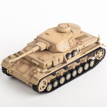 Panzerstahl 88005 Готовая модель танка Panzer IV 7 танковая дивизия 1943 г (1:72)