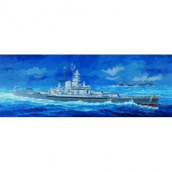 Trumpeter 05306 Сборная модель корабля USS MASSACHUSETTS BB-59 (1:350)