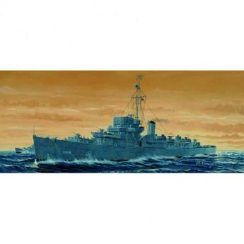 Trumpeter 05305 Сборная модель корабля USS ENGLAND DE-635 (1:350)