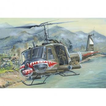 Hobby Boss HB81806 Сборная модель вертолета UH-1 Huey B (1:18)