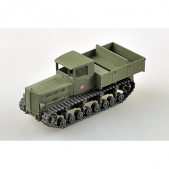 Easy Model 35118 Готовая модель трактора Коминтерн артиллерийский тягач (1:72)