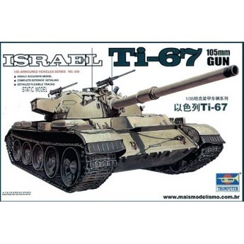 Trumpeter 00339 Сборная модель танка Ti-67 (1:35)
