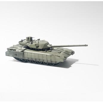"""BroneMir bm035 Готовая модель танка Т-14 """"Армата"""" (1:72)"""