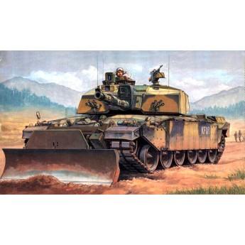 """Trumpeter 00345 Сборная модель танка """"Челленджер"""" в Косово (1:35)"""