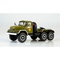 Modimio Легендарные грузовики СССР №8 Готовая модель ЗИЛ-131НВ седельный тягач (1:43)