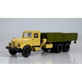 Modimio Легендарные грузовики СССР №23 Готовая модель ЯАЗ-210 бортовой (1:43)