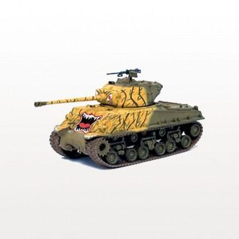Dragon Armor 60470 Готовая модель танка M4A3E8 (76W), HVSS 24th INFANTRY DIV HAN RIVER KOREA 1951 г (1:72)