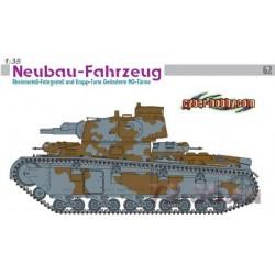 Модель танка Neubau-Fahrzeug Rheinmetall-Fahrgestell (1:35)