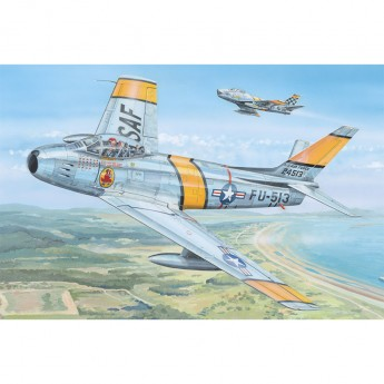 "Hobby Boss HB81808 Сборная модель самолета F-86F-30 ""Sabre"" (1:18)"