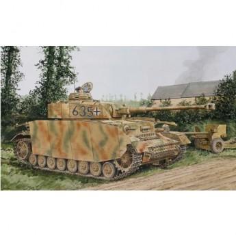 Dragon 6611 Сборная модель танка Pz.Kpfw.IV Ausf.H w/Zimmerit Mid-Production HJ Div. Normandy (1:35)