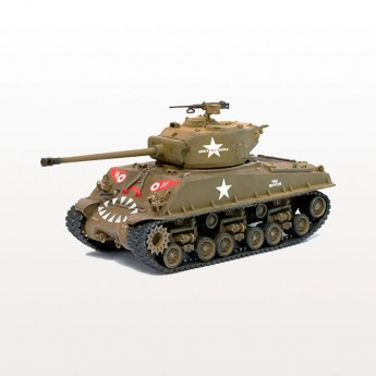 Dragon Armor 60469 Готовая модель танка M4A3E8 (76W) HVSS CO.C 89th TANK BATTALIO HAN RIVER KOREA 1951 г (1:72)
