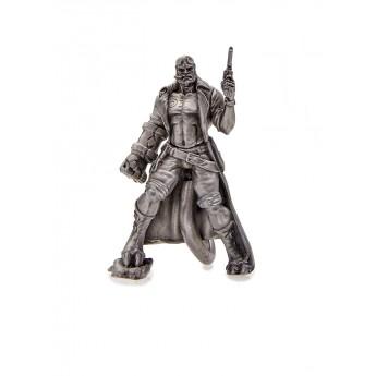 Hellboy Металлическая модель фигурка Хеллбой