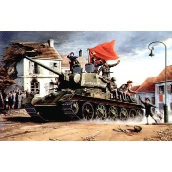 Модель танка Т-34/76 мод. 1943 г.