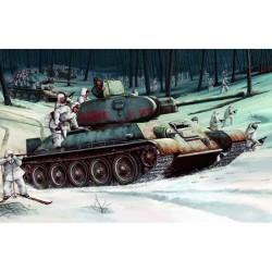 Trumpeter 00905 Сборная модель танка Т-34-76 мод 1942 г (1:16)