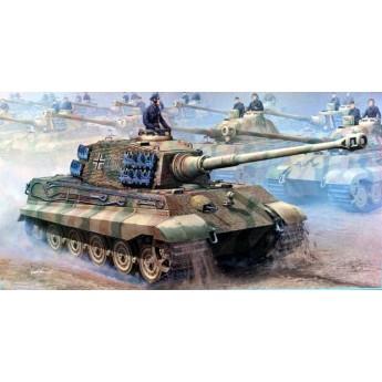 Trumpeter 00910 Сборная модель танка Королевский Тигр с 2 башнями (1:16)