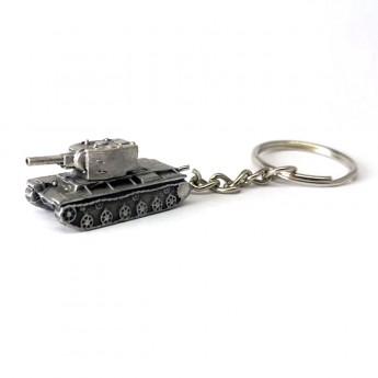 "HeavyMetal.Toys Брелок ""Танк КВ-2"" из металла"