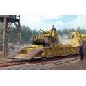 Trumpeter 01508 Сборная модель немецкой ЖД платформы с танком Pz.Kpfw.38(t) (1:35)