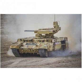"Trumpeter 09565 Сборная модель объект 199 BMPT Ramka w ATGM launcher ""ATAKA"" (1:35)"