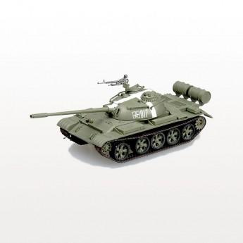 Easy Model 35021 Готовая модель танка Т-54 в Праге 1968 г (1:72)