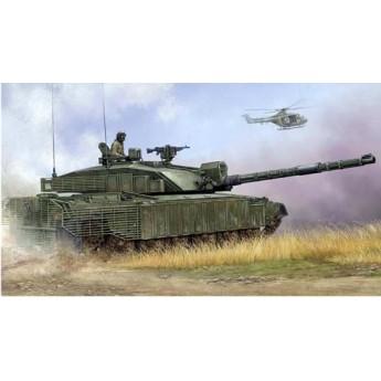 """Trumpeter 01522 Сборная модель танка """"Челленджер"""" с навесной броней (1:35)"""